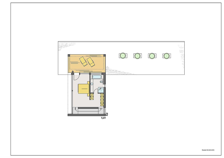 Haus Peters - Ein Screenshot eines Handys - Gebäudeplan