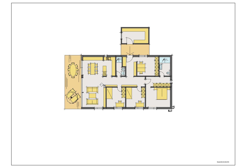 Haus Herold - Ein Screenshot eines Handys - Gebäudeplan