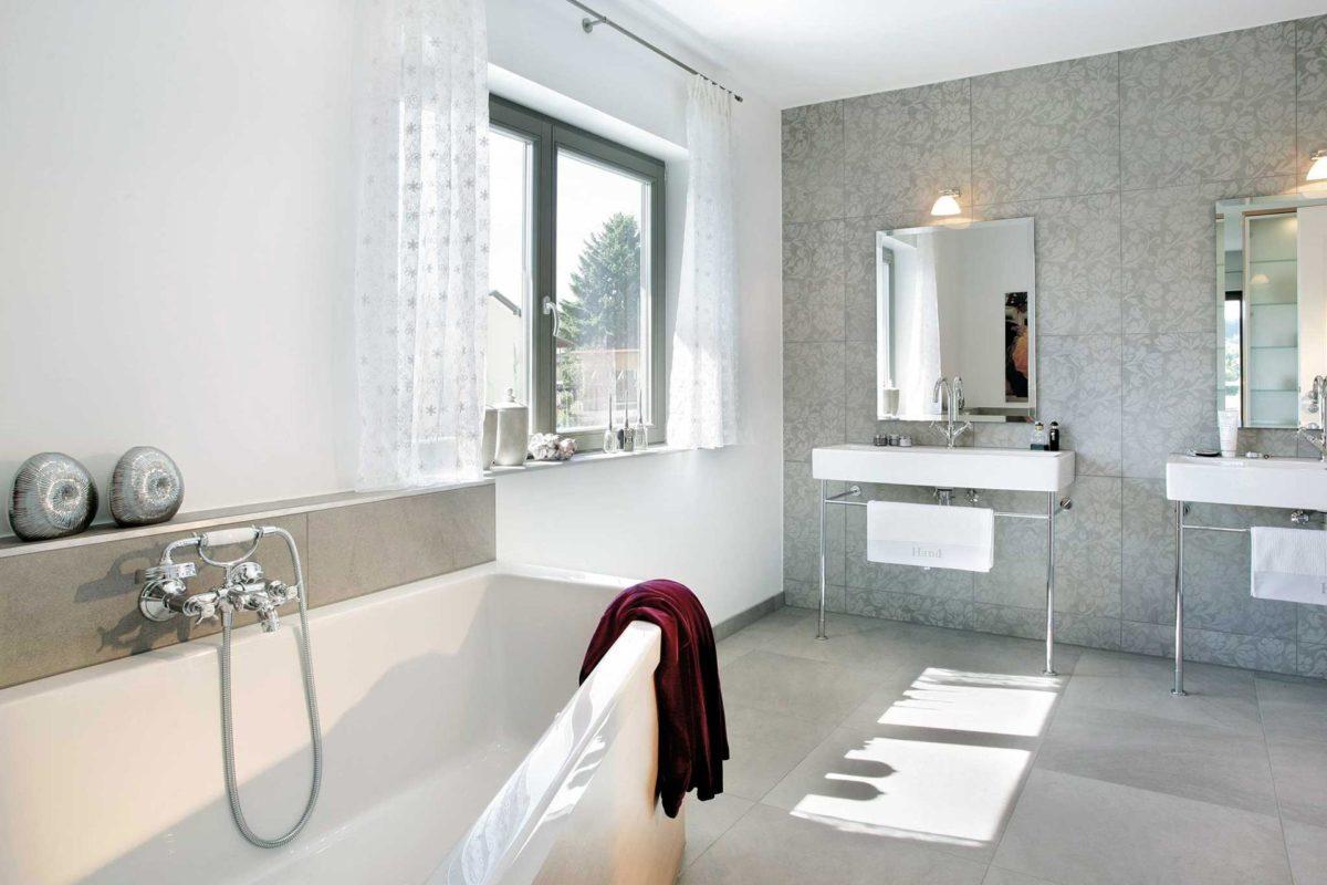 Plan E 20-182.1 - Ein zimmer mit waschbecken und spiegel - Schw SchwarzerHaus KG Musterhaus Wadern-Nunkirchen