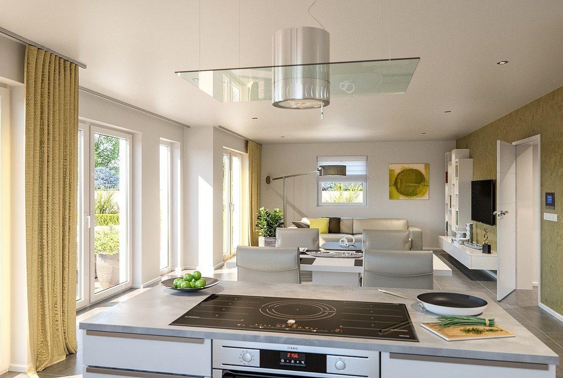 CLOU 169 - Eine küche mit herd ein waschbecken und ein fenster - Haus