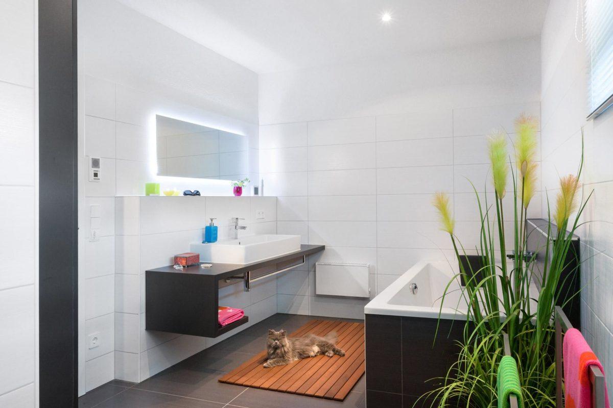 Haus Buser - Eine küche mit waschbecken und fenster - Interior Design Services
