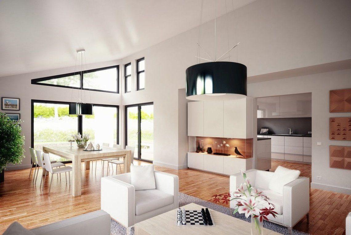 Bungalow Liberty - Ein Wohnzimmer mit Möbeln und einem Flachbildfernseher - Haus