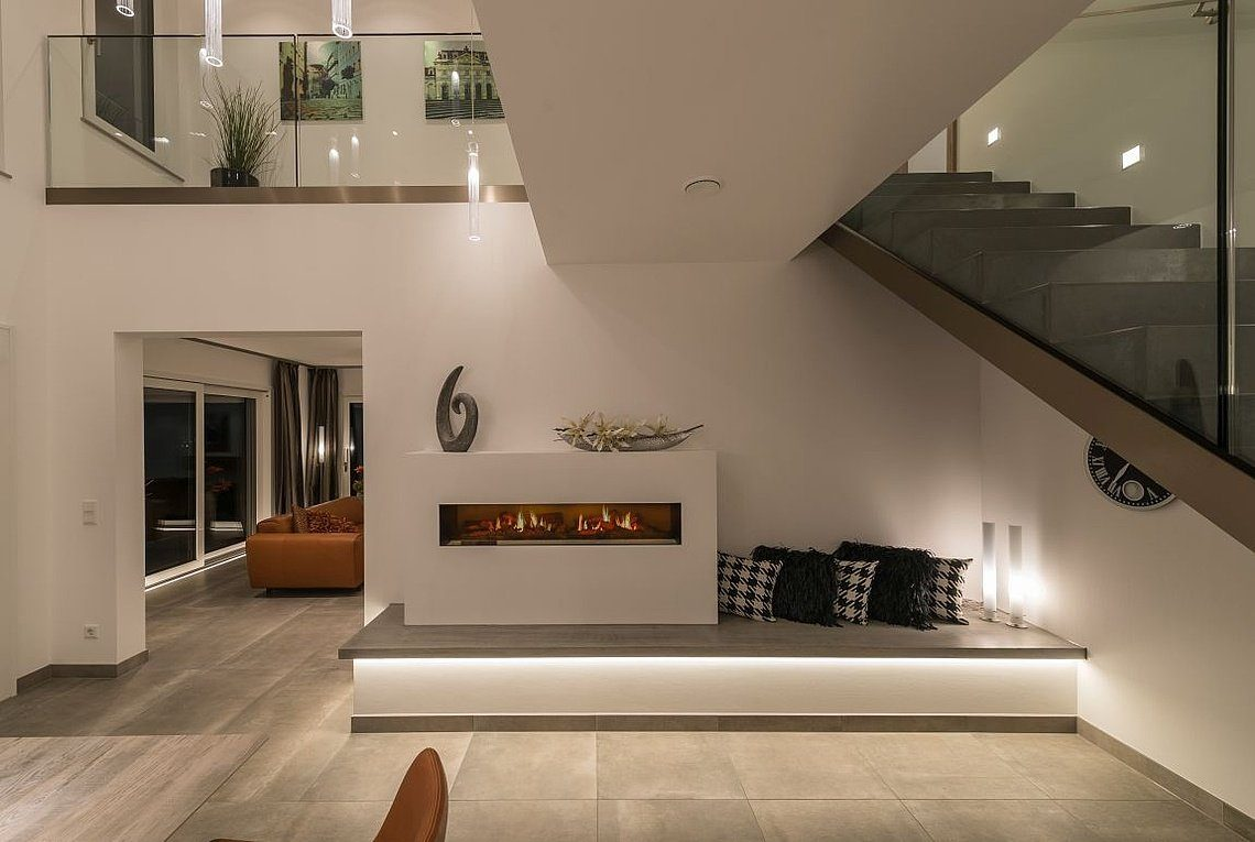 Musterhaus San Diego - Eine Ansicht eines Wohnzimmers - Haus