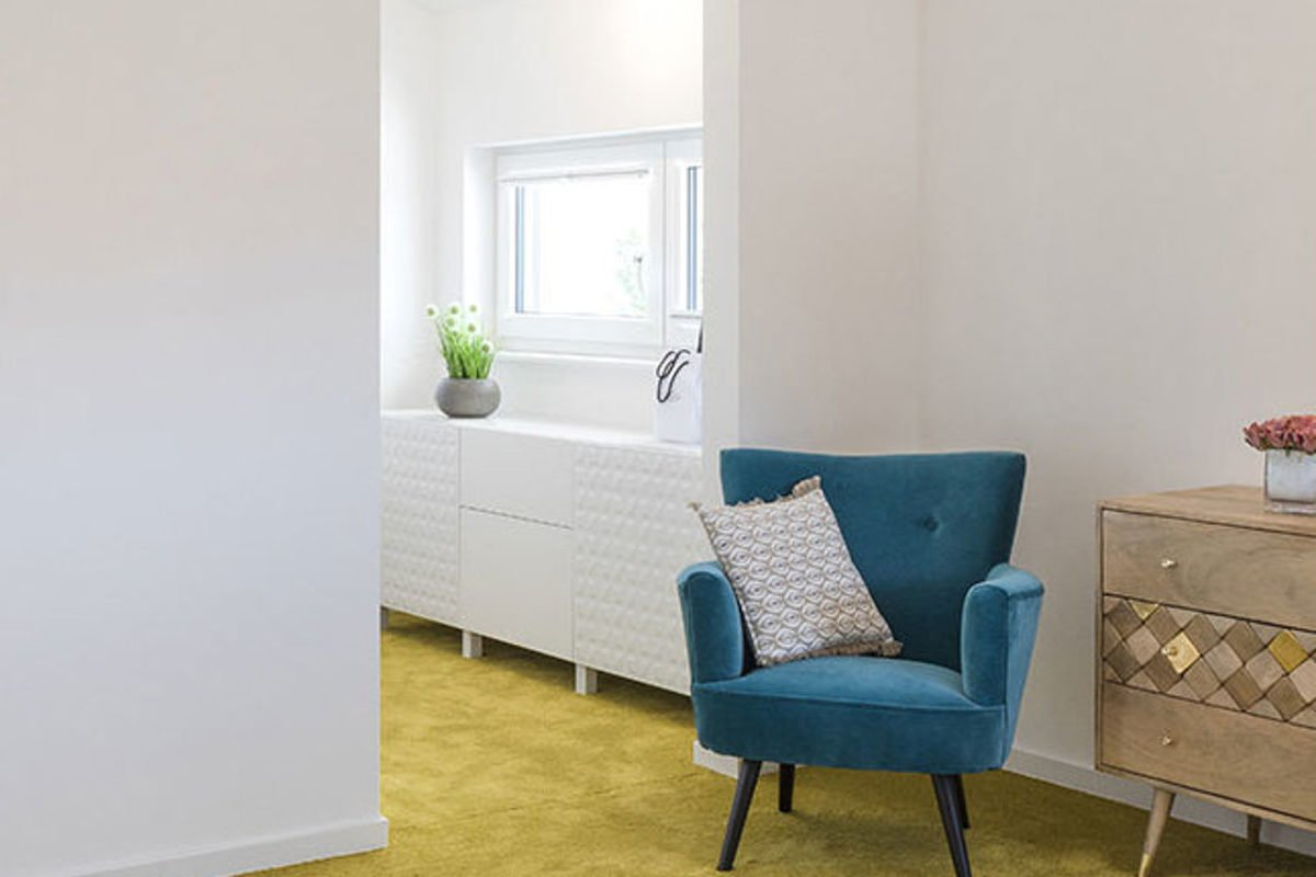 Musterhaus Lanos Wien - Ein großer leerer Raum - Interior Design Services