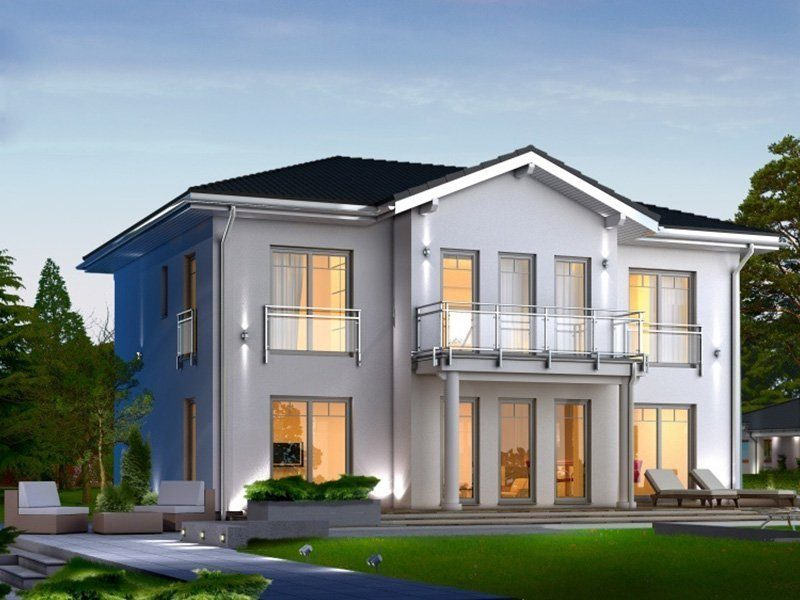 Classic 184 - Ein großes weißes Haus - Haus