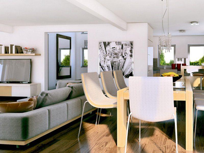 Classic 184 - Ein Wohnzimmer mit Möbeln und einem Kamin - Interior Design Services