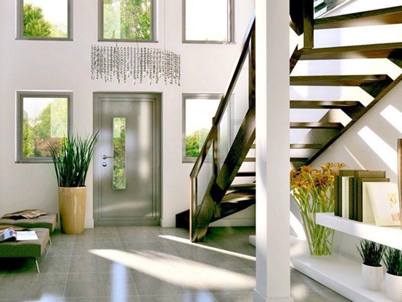 Classic 184 - Ein Raum voller Möbel und ein großes Fenster - Haus