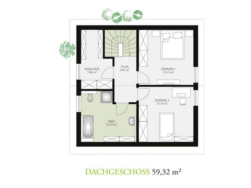 Point 118.2 - Ein Screenshot eines Handys - Gebäudeplan