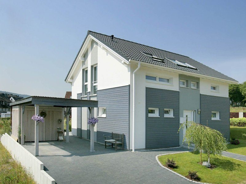 Point 129A - Ein großes weißes Haus - Haus
