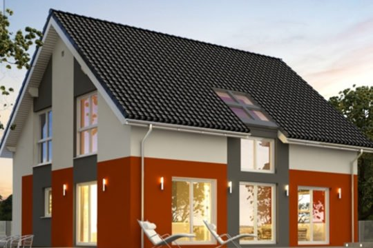 Point 150.17 - Ein großes weißes Haus - Haus