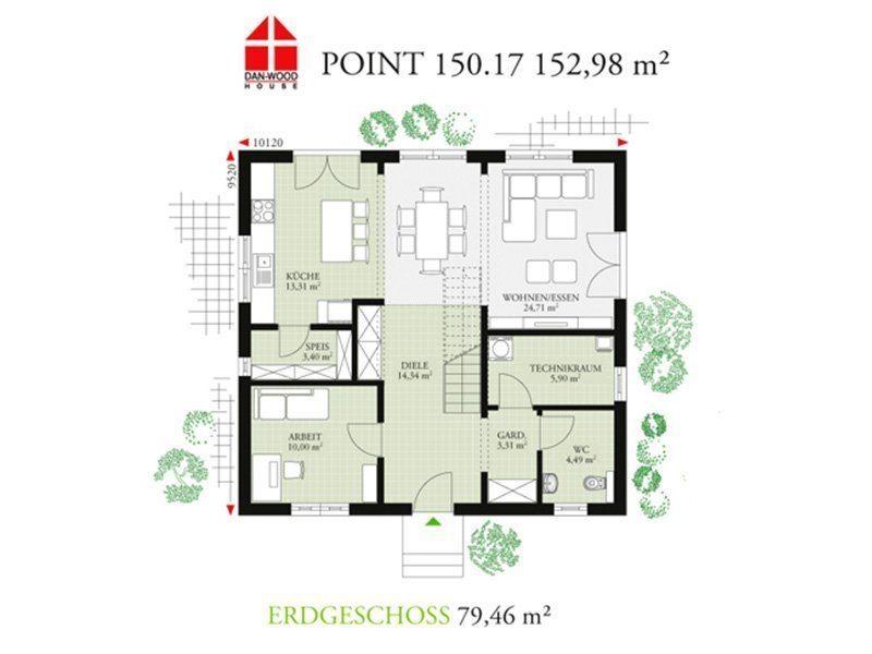 Point 150.17 - Eine Nahaufnahme eines Geräts - Gebäudeplan