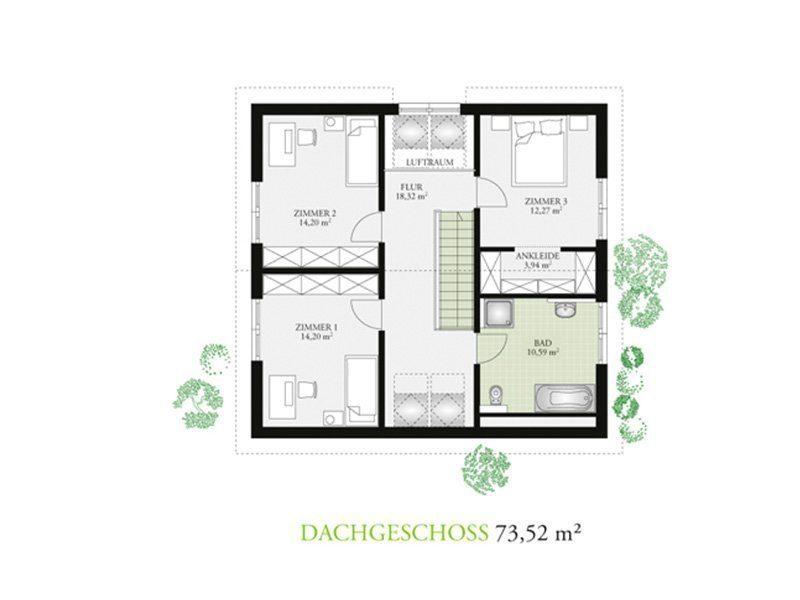 Point 150.17 - Gebäudeplan