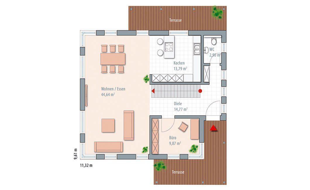 Edition Select 156 - Ein Screenshot eines Videospiels - Gebäudeplan