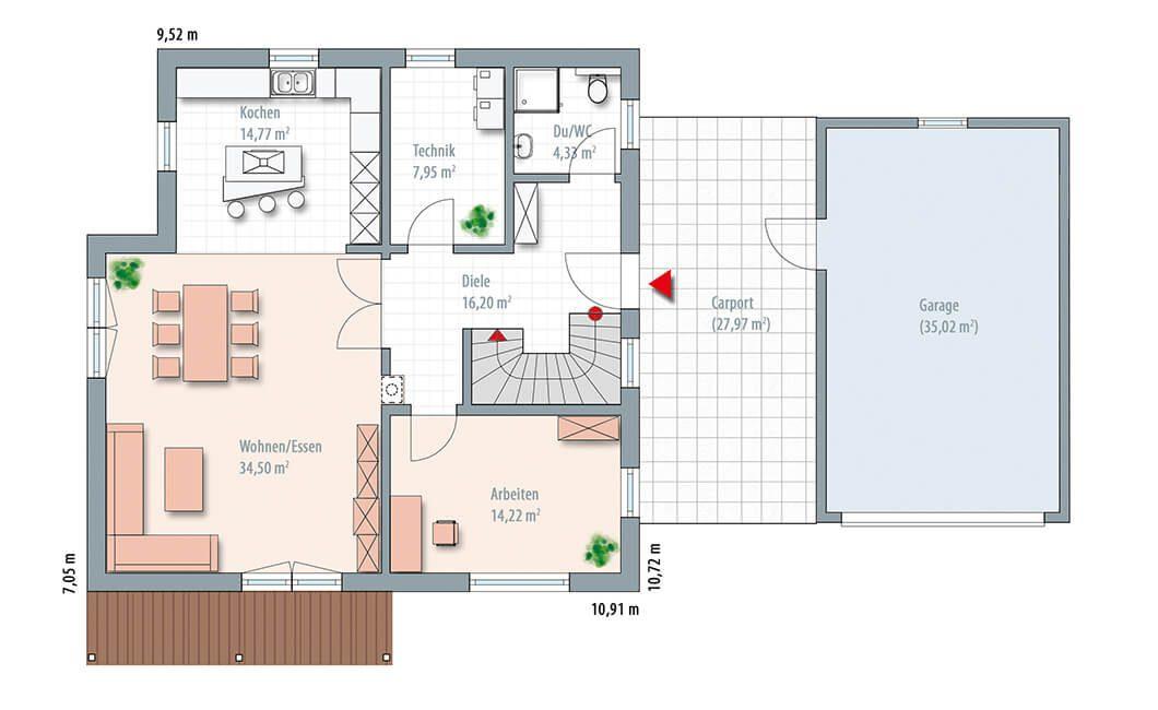 Edition 170 - Eine Nahaufnahme von einer Karte - Gebäudeplan