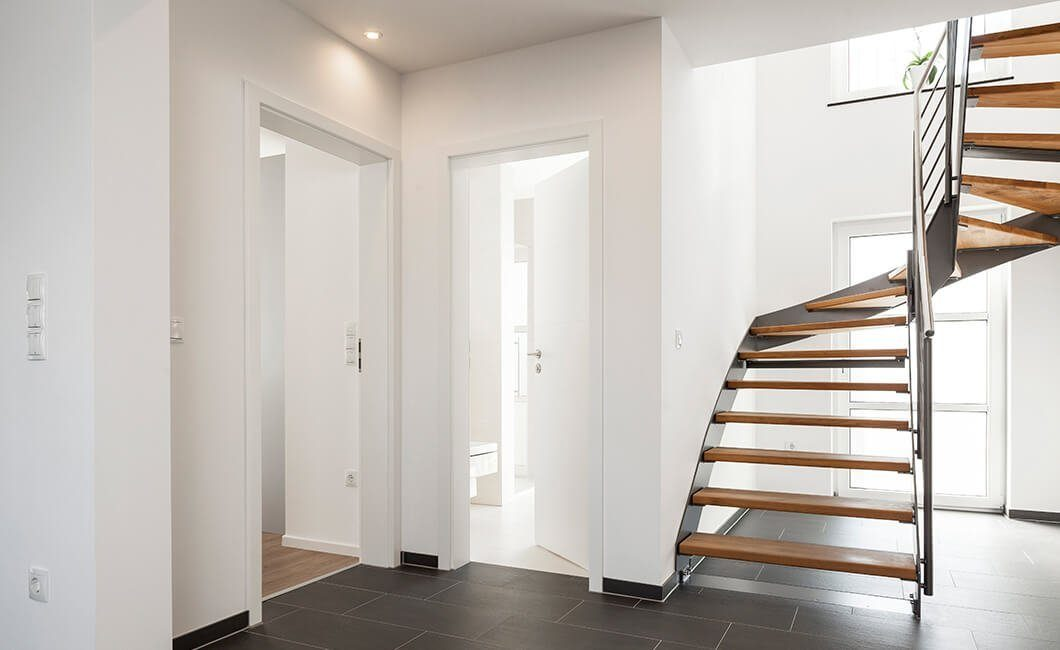 Edition 174 - Ein Zimmer mit Holzboden - Treppe