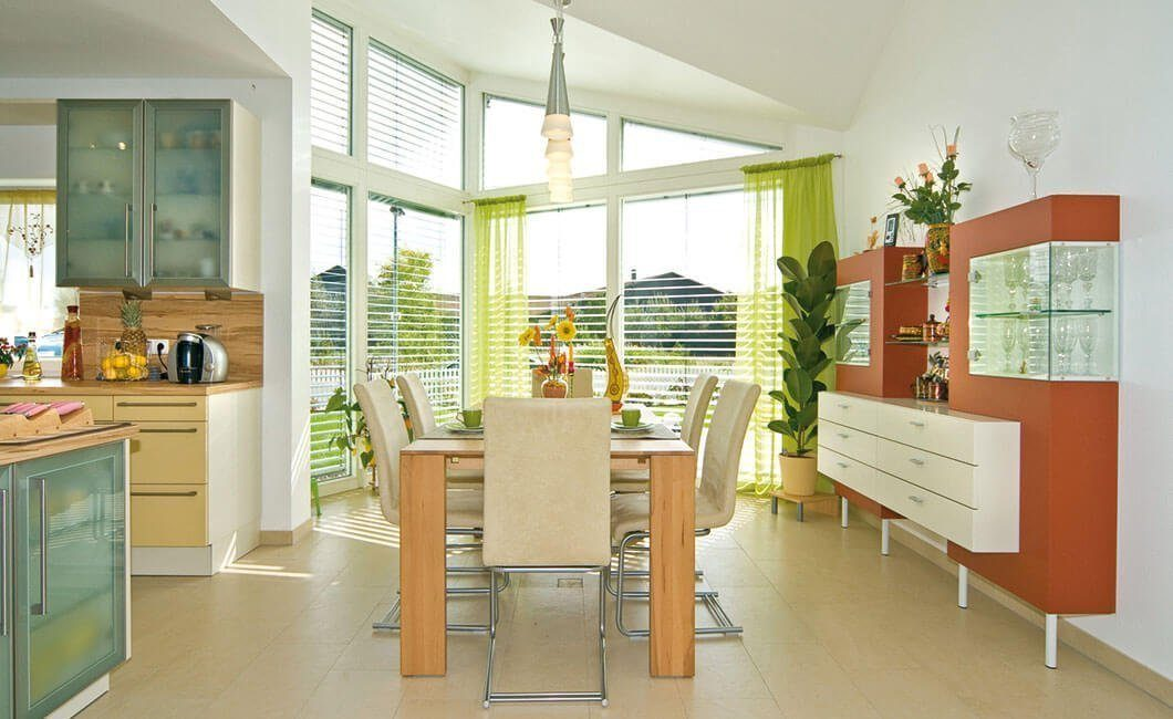 Edition Select 181 - Eine Küche mit einem Esstisch - Interior Design Services