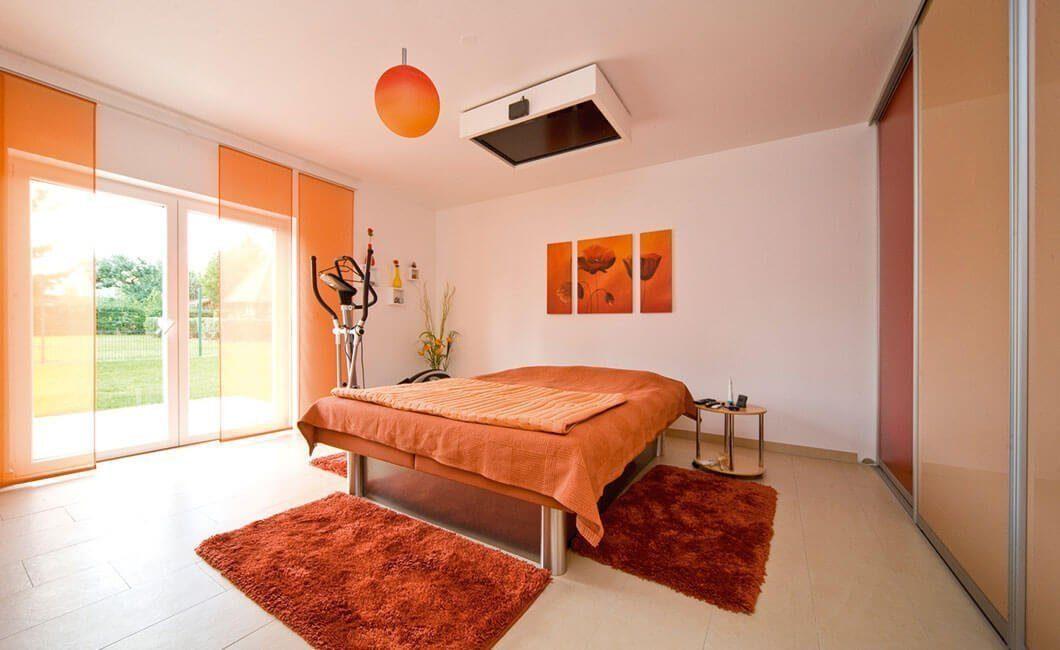 Edition Select 181 - Ein Schlafzimmer mit einem Bett in einem Raum - Haus
