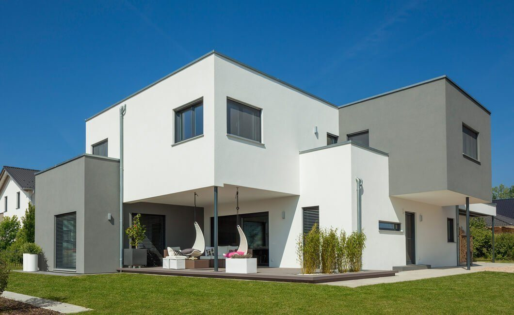 Edition Select 236 - Eine große Wiese vor einem Haus - Haus