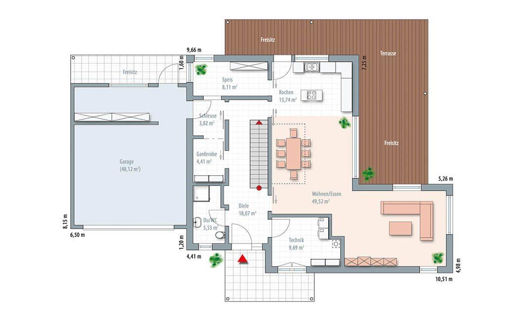 Edition Select 236 - Ein Screenshot eines Videospiels - Gebäudeplan