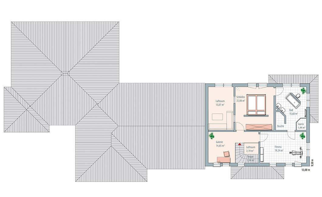 Edition Select 343 - Ein Screenshot eines Videospiels - Gebäudeplan