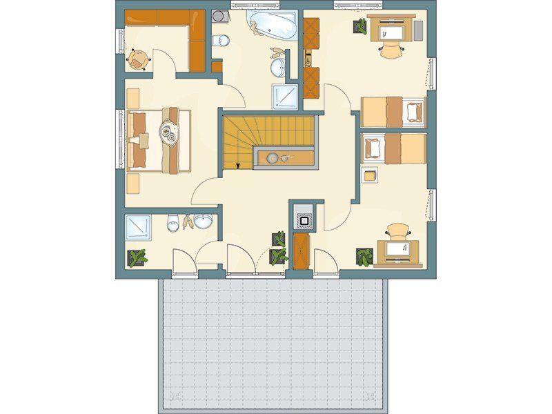 AT– Freiraum zum Wohlfühlen - Eine Nahaufnahme von einer Karte - Gebäudeplan
