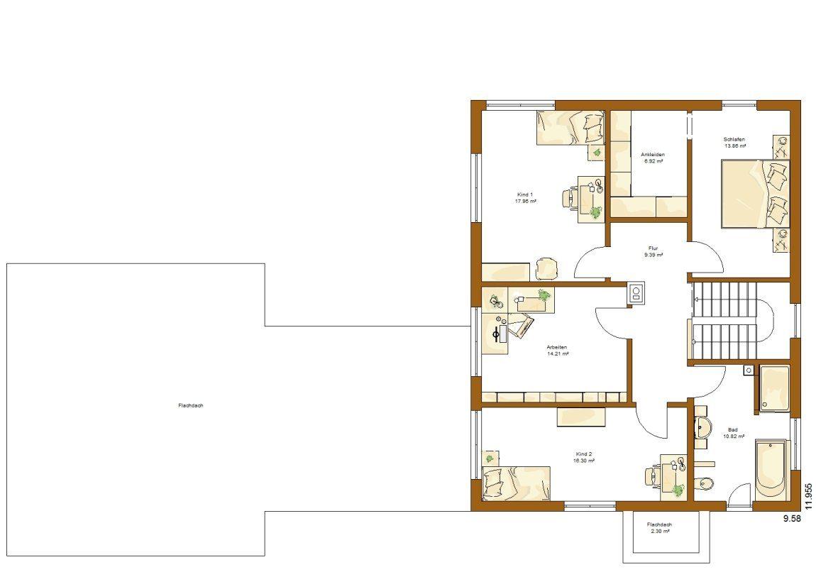 Kundenhaus Frankfurt - Eine Nahaufnahme von einer Karte - Gebäudeplan