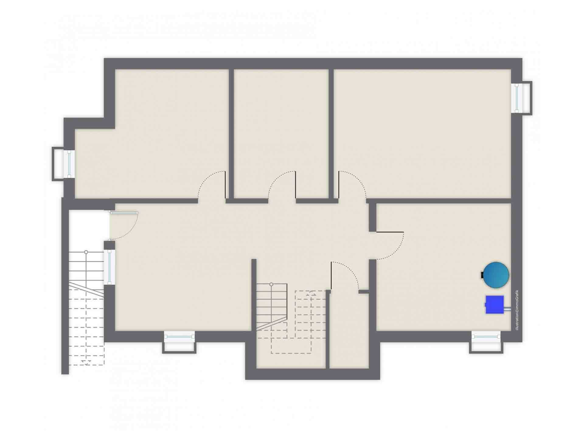 Einfamilienhaus Siebenbrunn - Ein Screenshot eines Videospiels - Gussek Haus