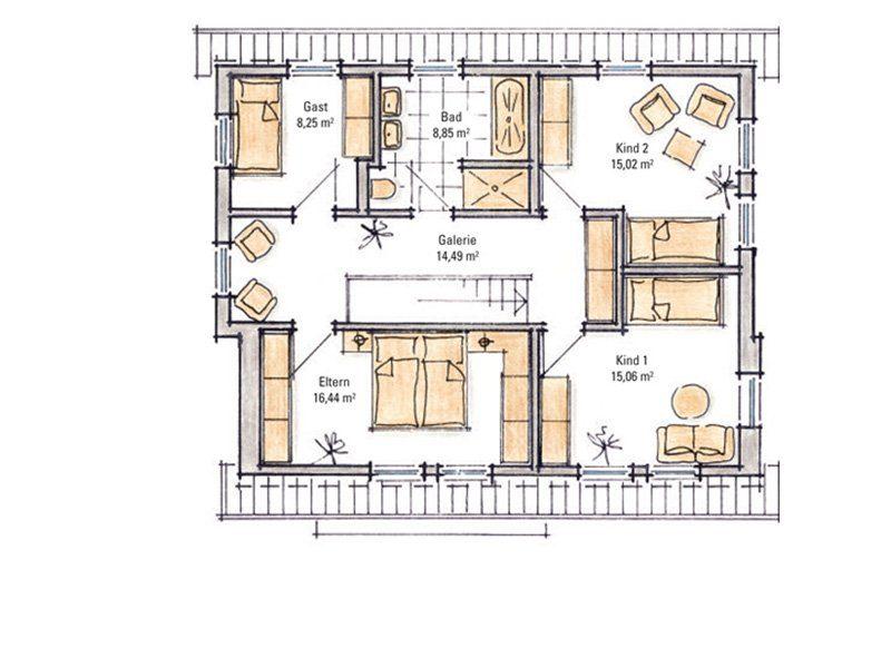 Madeleine – Musterhaus Fellbach - Eine Nahaufnahme einer Uhr - Gussek Haus