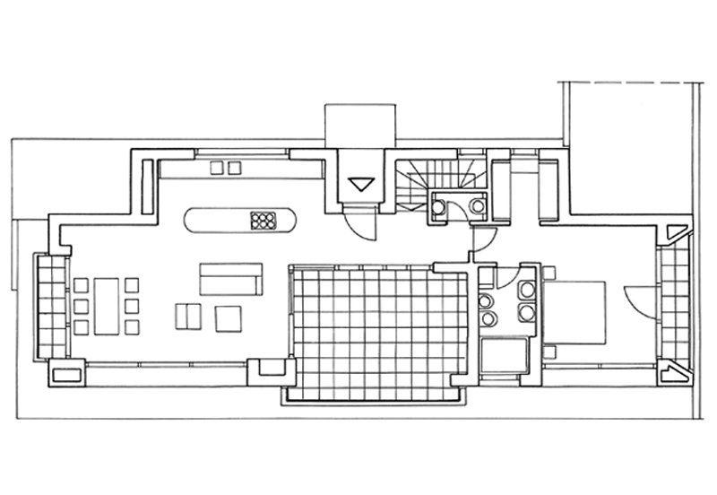 Schwarzwälder Haus, Entwurf Sutton