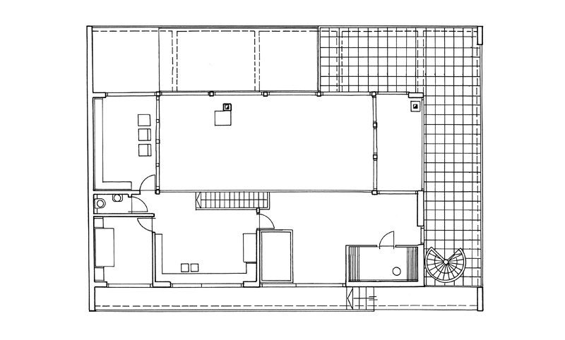 Grundriss DG Custom Home II