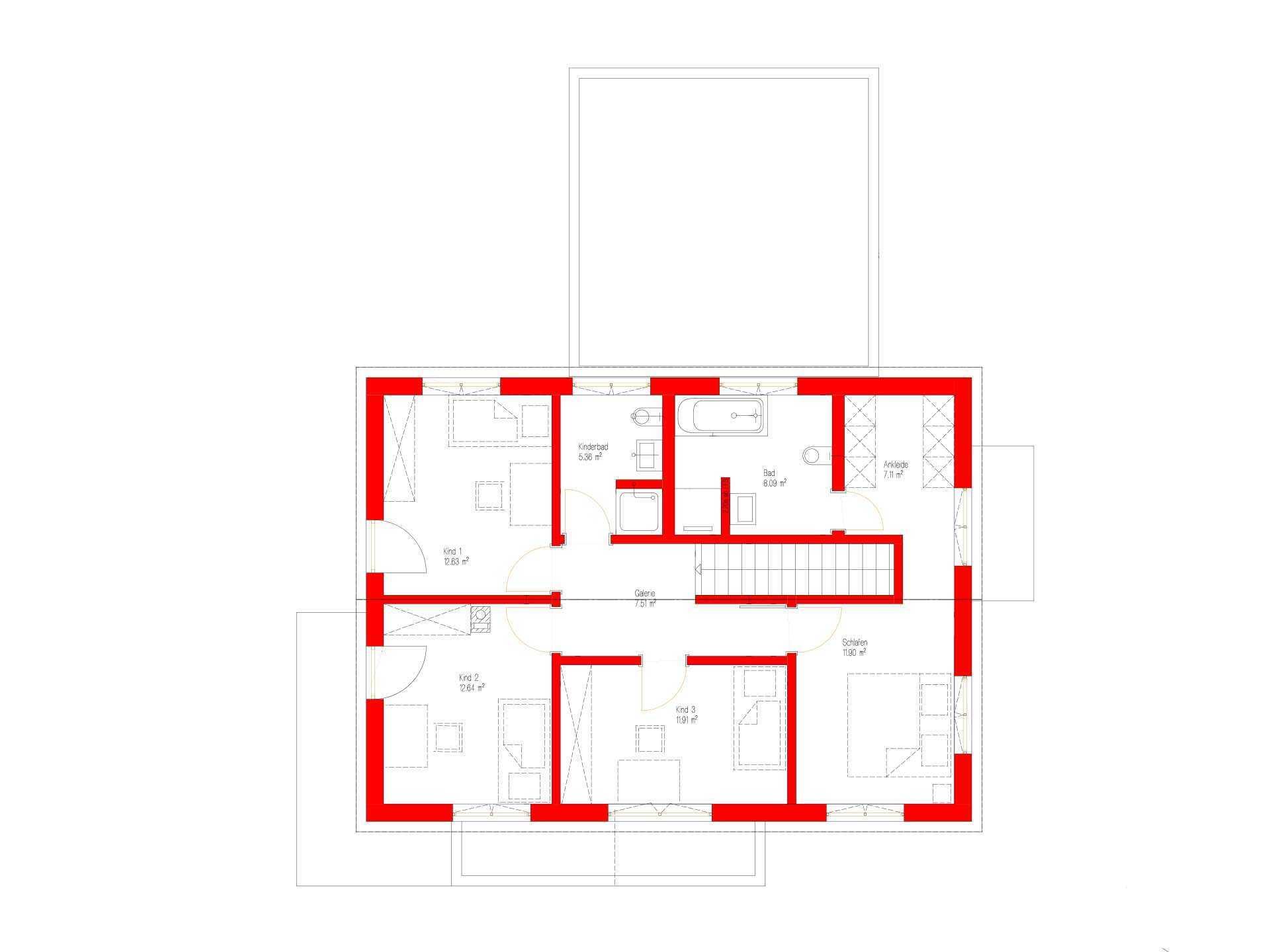 Kundenhaus Malmsheim - Eine Nahaufnahme von einem Logo - Gebäudeplan