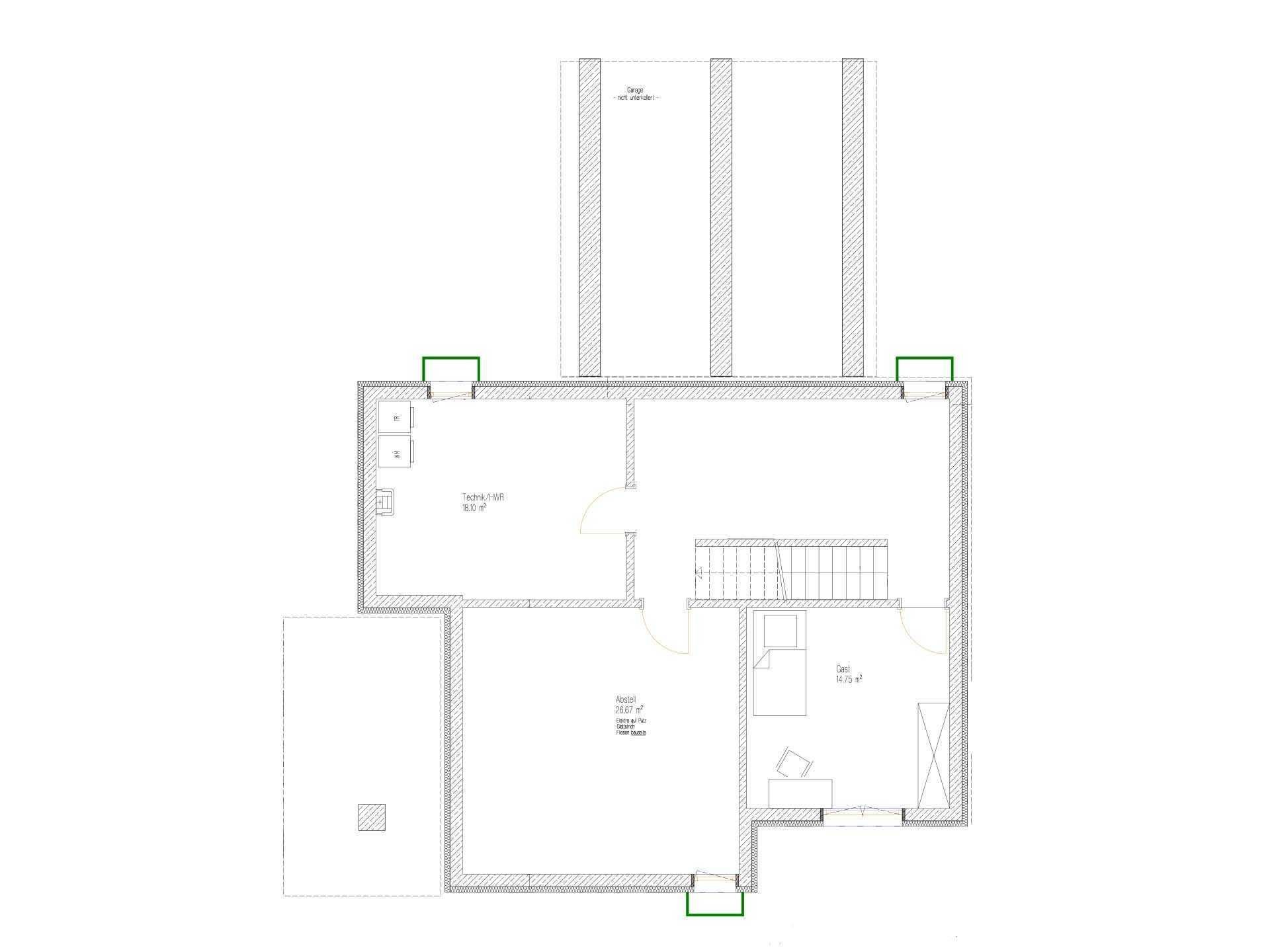 Kundenhaus Malmsheim - Eine Nahaufnahme von einer Karte - Gebäudeplan