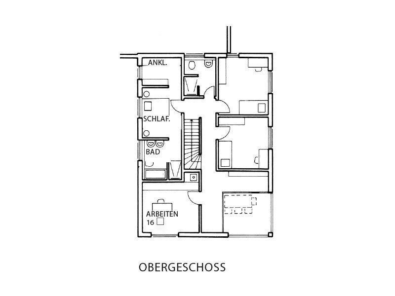 Haus-Empfingen - Eine Nahaufnahme von einem Logo - Gebäudeplan