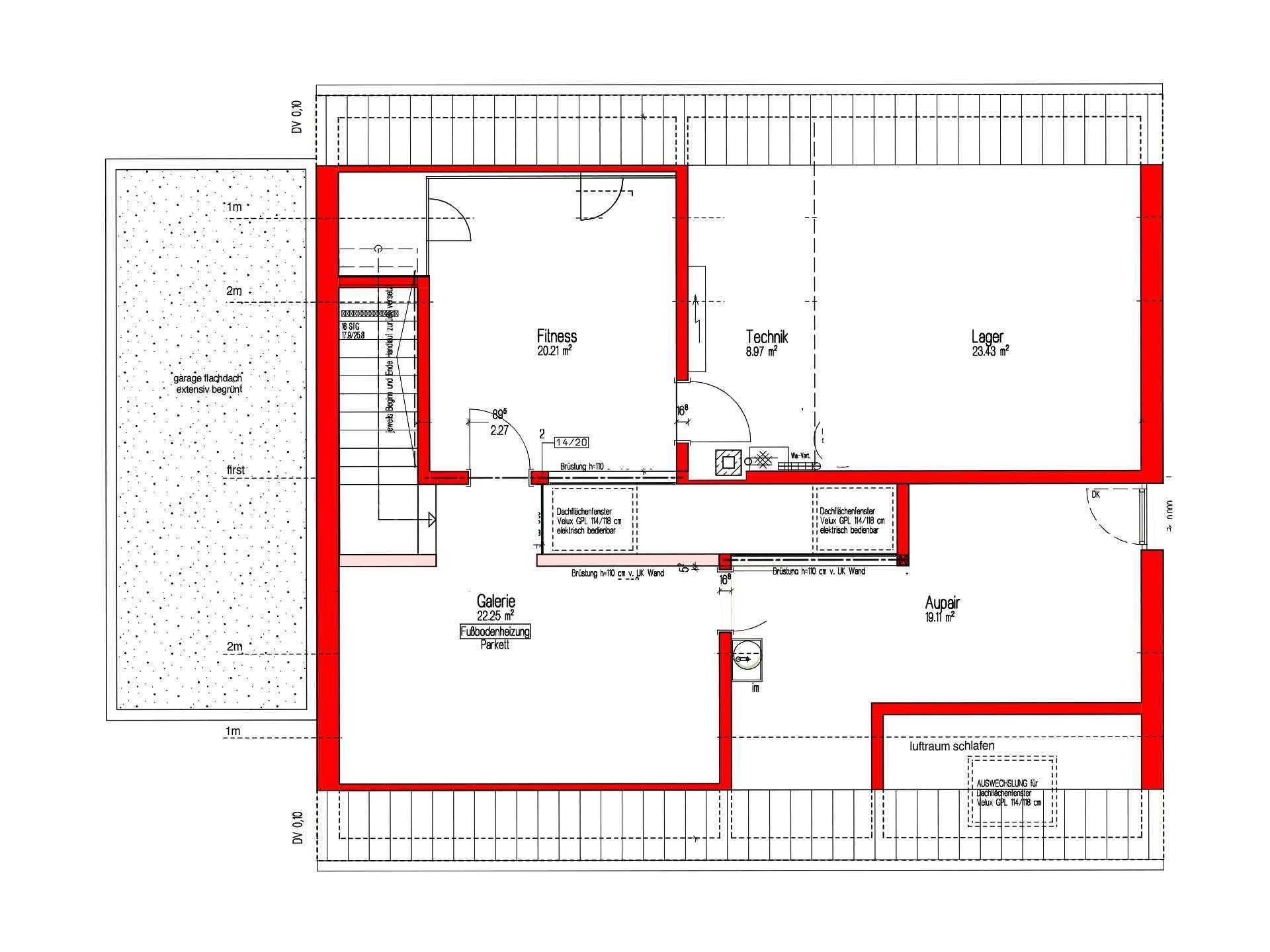 Killesberg - Ein Screenshot eines Handys - Gebäudeplan