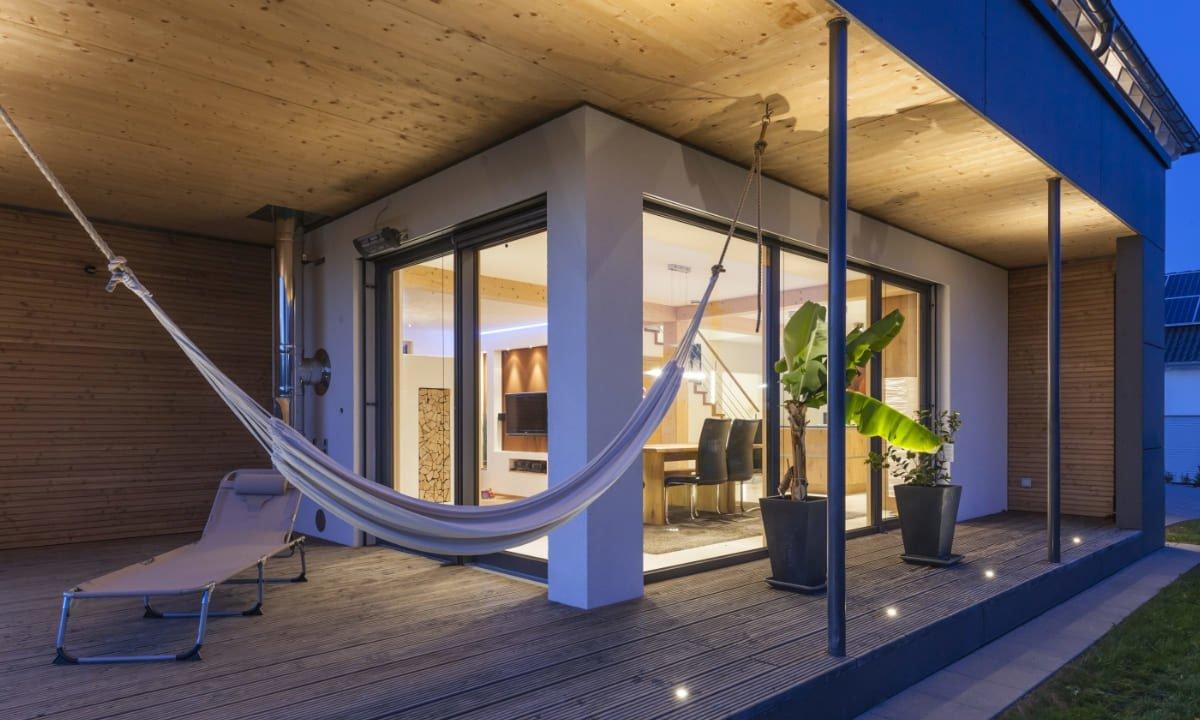 Individuelles Architektenhaus - Ein großer Raum - Haus