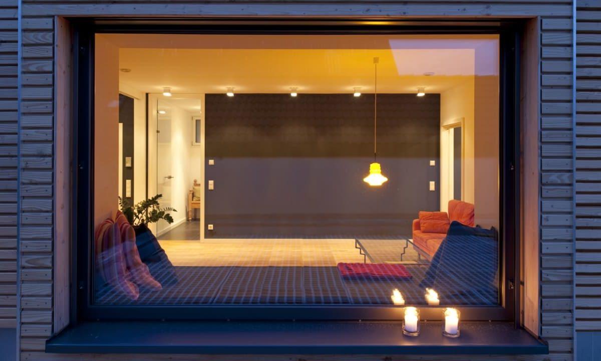 Kundenhaus in Unterfranken - Ein Screenshot eines Schaufensters - Fenster