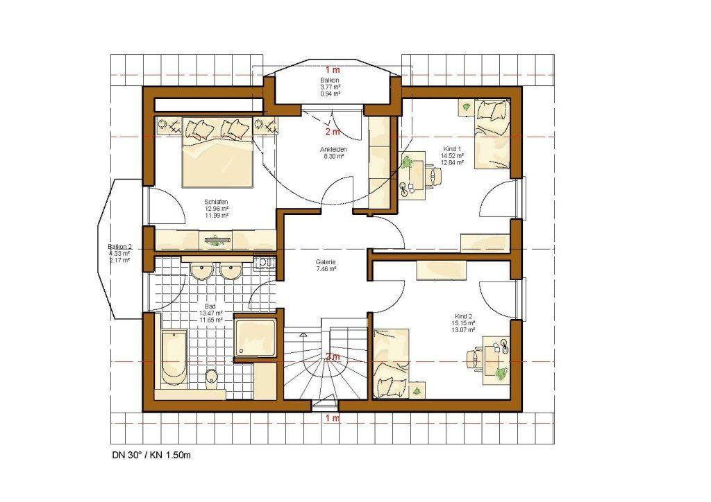 Kundenhaus Linz - Eine Nahaufnahme von einer Karte - Gebäudeplan
