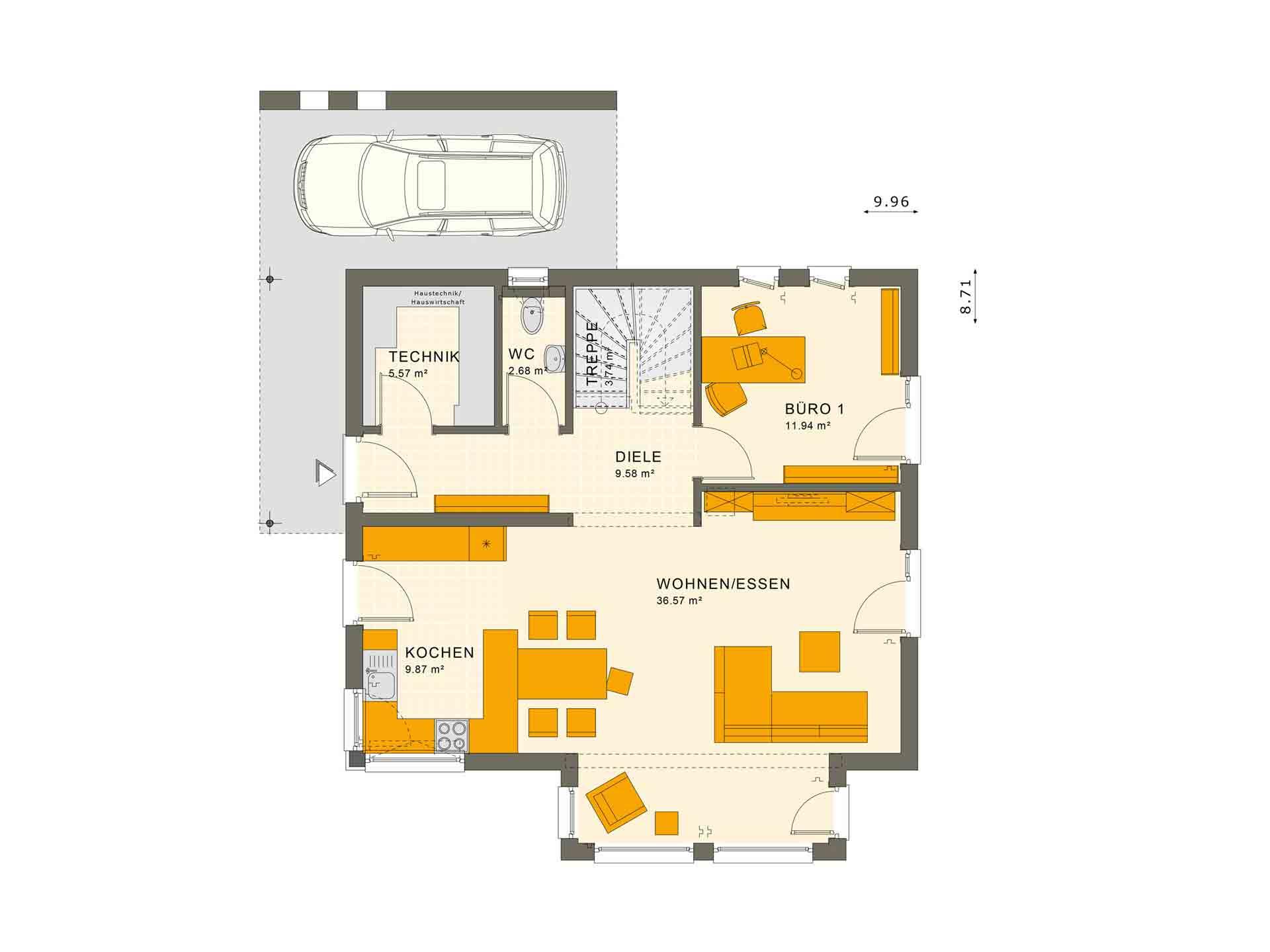 SUNSHINE 143 Mülheim-Kärlich - Eine Nahaufnahme von einer Karte - Gebäudeplan
