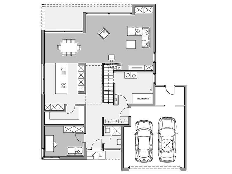 Bauhaus-Villa - Eine Nahaufnahme eines Geräts - Haus