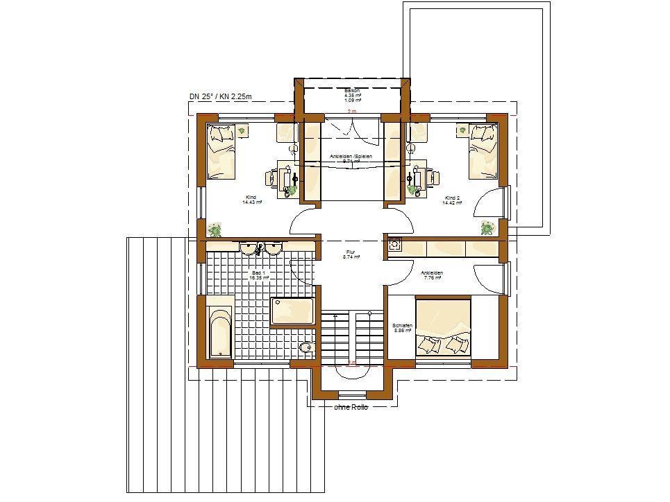 Musterhaus Innovation R - Eine Nahaufnahme von einer Karte - RENSCH-HAUS Musterhaus-Standort Bad Vilbel