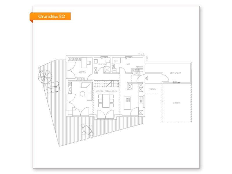 Vitalhaus Glonn - Eine nahaufnahme von text auf einem weißen hintergrund - Regnauer Fertigbau GmbH & Co. KG