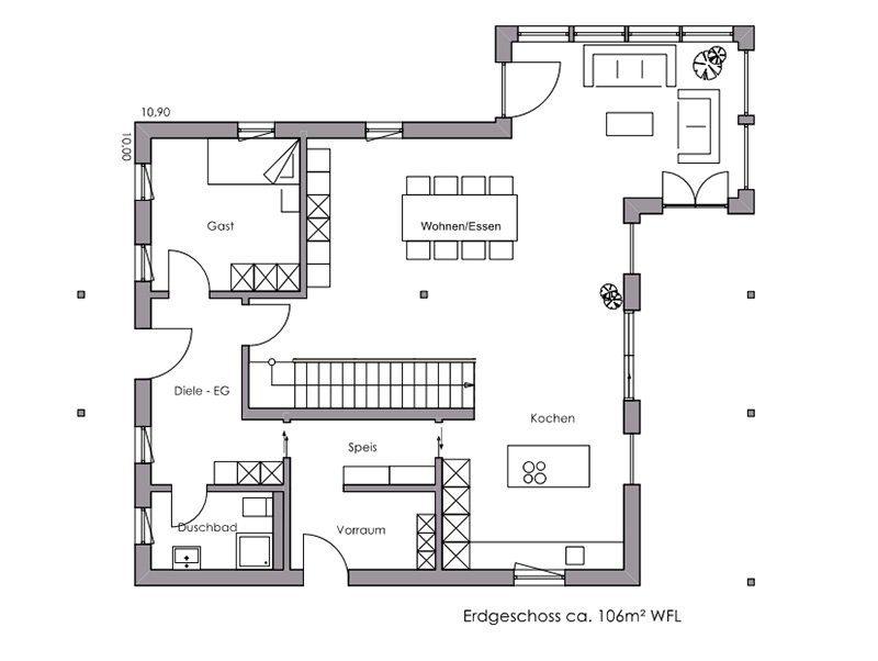 Vitalhaus Landshut - Eine Nahaufnahme von einer Karte - Regnauer Fertigbau GmbH & Co. KG