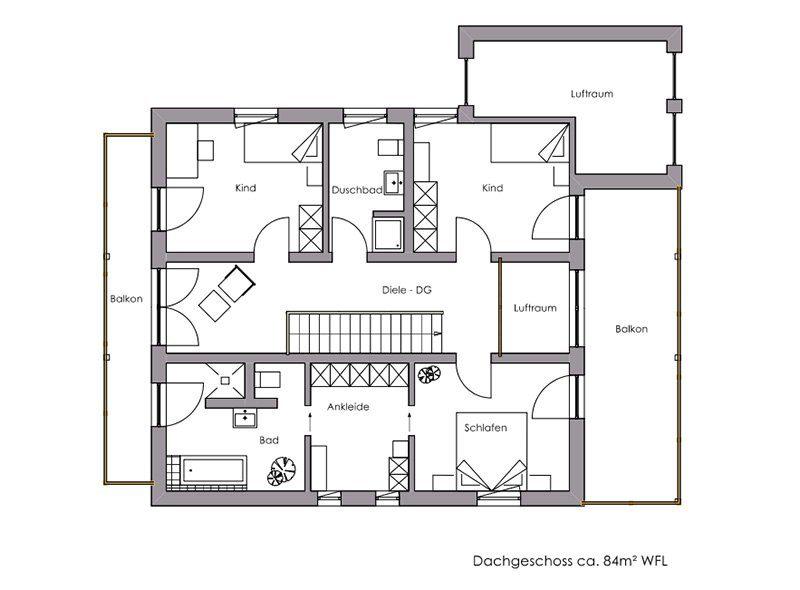 Vitalhaus Landshut - Eine Nahaufnahme von einer Karte - Gebäudeplan