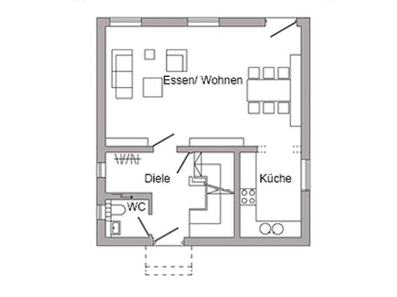 Plan E 20-098.3 - Eine Nahaufnahme von einem Logo - Gebäudeplan