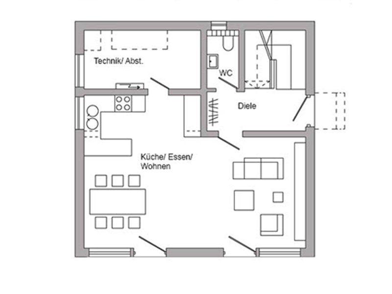 Plan E 20-100.2 - Eine nahaufnahme von text auf einem weißen hintergrund - Gebäudeplan
