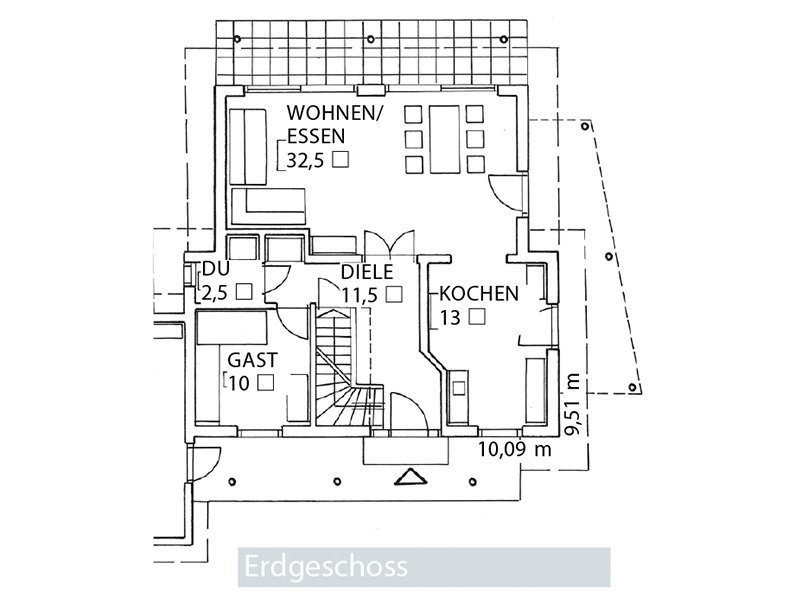 Young Family Home Large - Eine nahaufnahme von text auf einem weißen hintergrund - Gebäudeplan