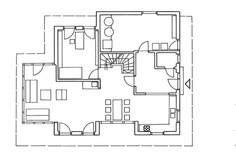 Blockhaus von Stommel Grundriss EG
