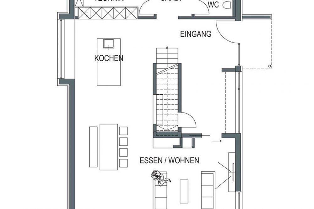 Musterhaus Suhr - Eine Nahaufnahme von einem Logo - Home Expo Suhr