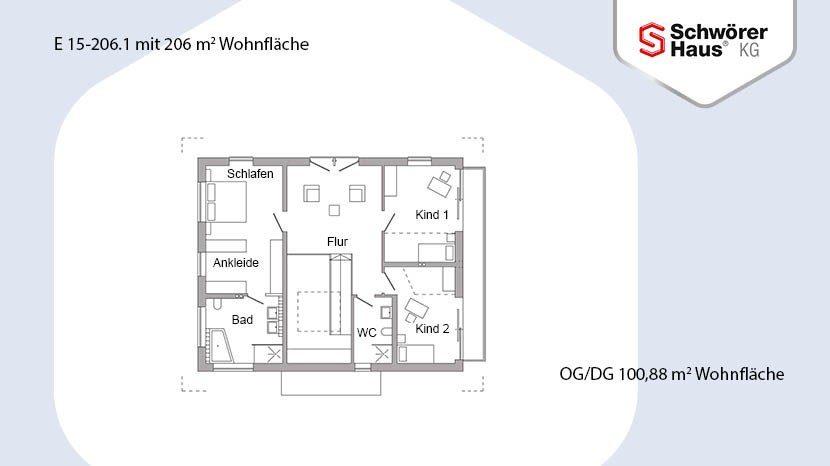 Plan E15-206.1 - Eine nahaufnahme von text auf einem weißen hintergrund - Gebäudeplan