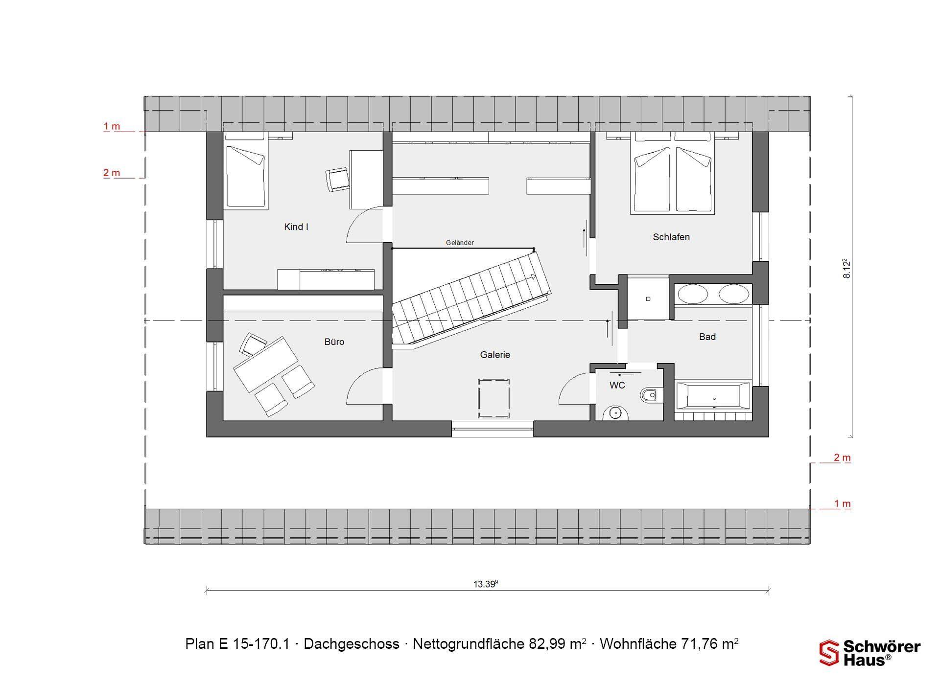 Plan E 15-140.1 - Ein Screenshot eines Handys - Gebäudeplan